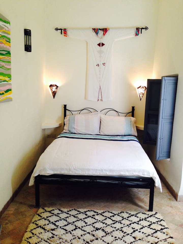 Our lovely ground floor jardin double room