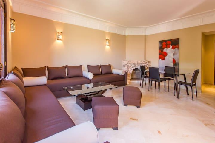 Appartement quartier residentiel - Marrakesh - Huoneisto
