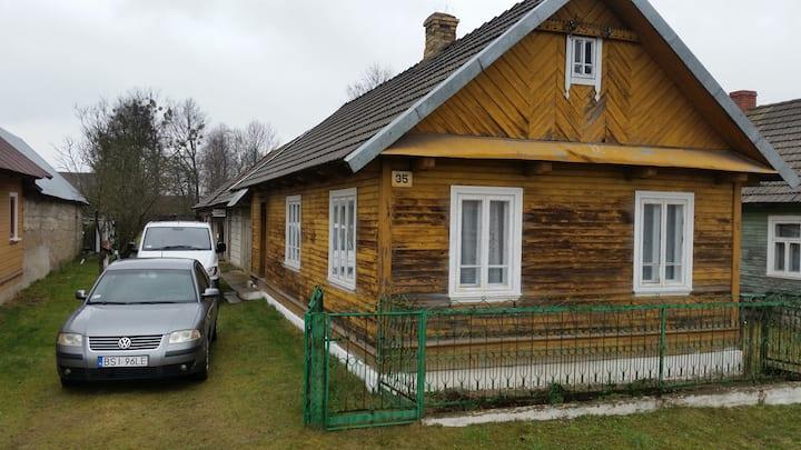 Wiejskie siedlisko na Podlasiu