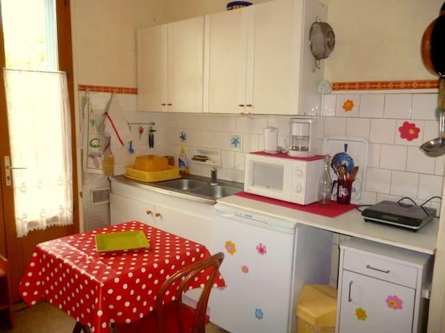 chambre avec kitchenette et balcon - Montpellier - Hus