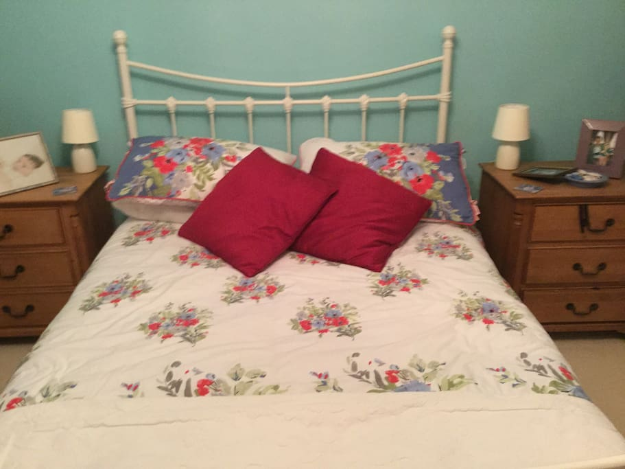 Second double room with comfortable double bed