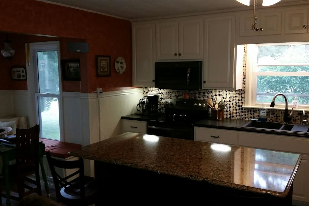 Double oven, all new appliances, plumbing and cabinets from local craftsman.