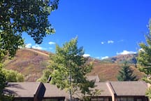 View of Park City Mountain Resort from your balcony