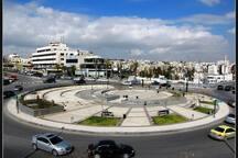 Craving for some Ice Cream, Falfel, or some Shawerma? Walk for 6 mins to Abdoun Circle :)