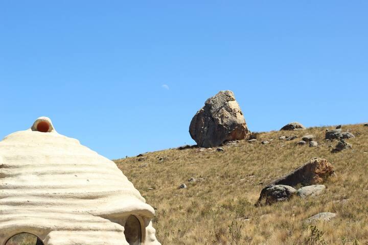 Superadobe Dome - Huaraz - Earth House