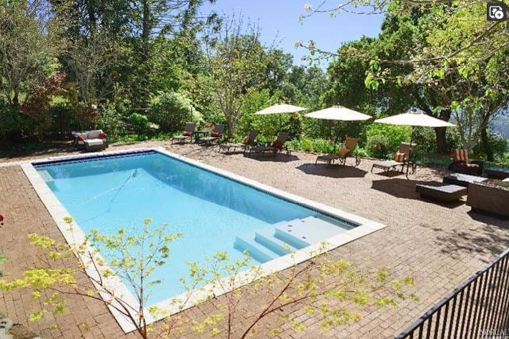 Swimming pool (unheated) best enjoyed May - September, but you're welcome to swim year round if you don't mind the cold!