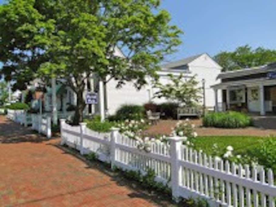 Walk 1 minute to the Orleans Chamber of Commerce 44 Main street.  ALL THE INFO you need for Cape Cod  Getaway!
