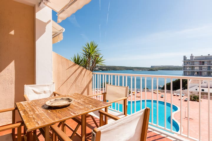 Duplex con vistas al mar - Es Castell - Apartment
