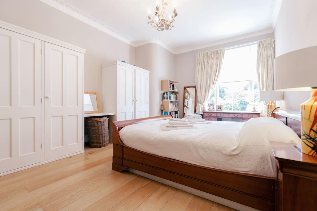 Master Bedroom with plenty of storage space.