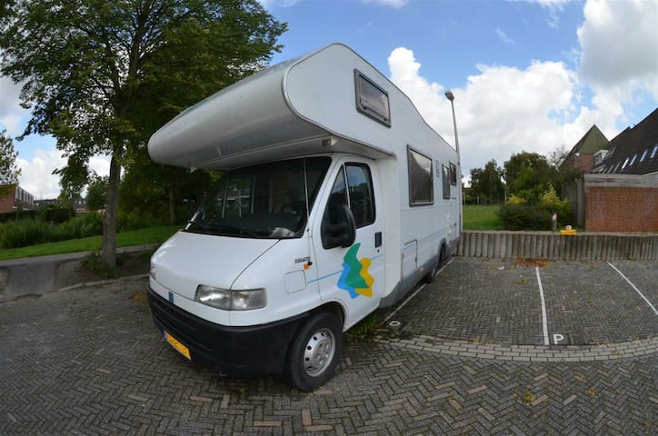 6 persoons familie mobilehome