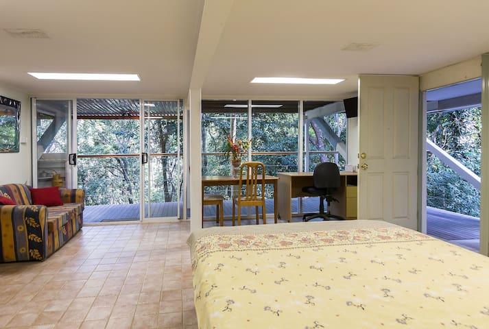 Self-contained Studio in Rainforest - Bayview Heights - Hus