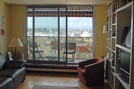 Belle vue sur tout Paris - Paris