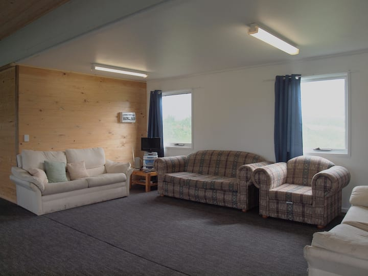 Forest hostel for group escape