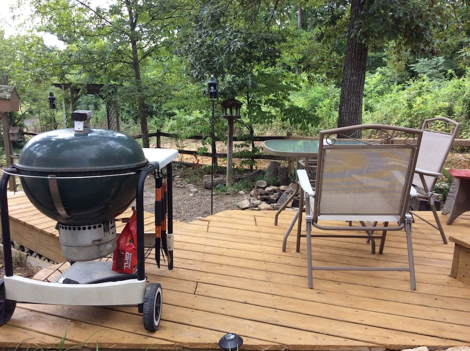 Bring some charcoal and have a cook-out. Utensils are provide.