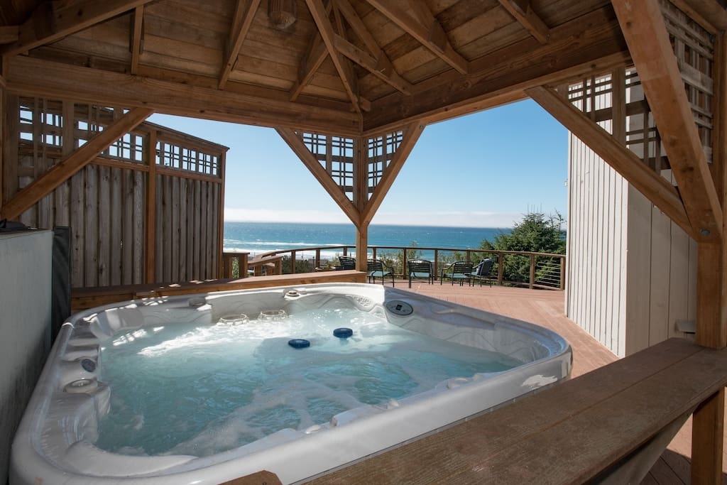 """The hot tub was so peaceful and relaxing"" T/G Familieis"