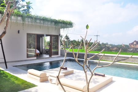 Healing Village w/Pool & Rice Field - Ubud