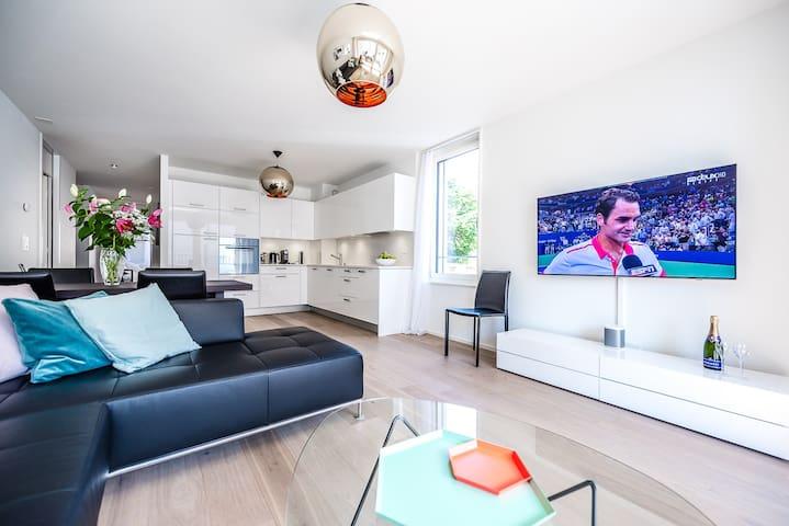 MODERN MONTREUX 2 Bedroom Apartment   Lake views! - Montreux - Apartamento