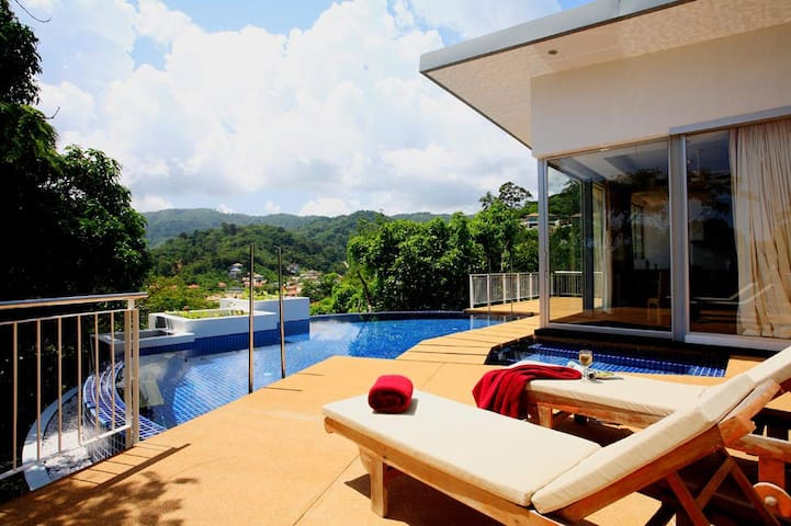 4BR Villa with Private Pool & Mountain View - Kammala - Villa