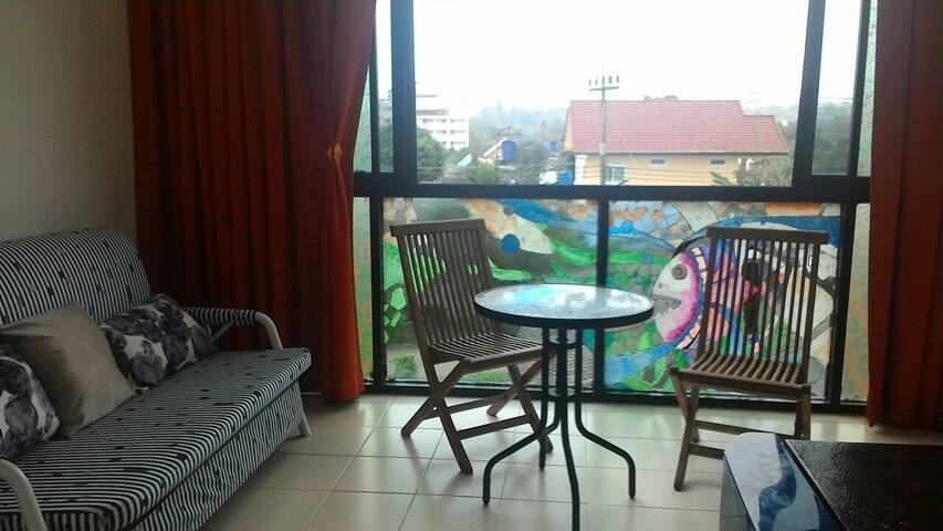 Дешевая квартира Хорошее место Хороший вид Раваи