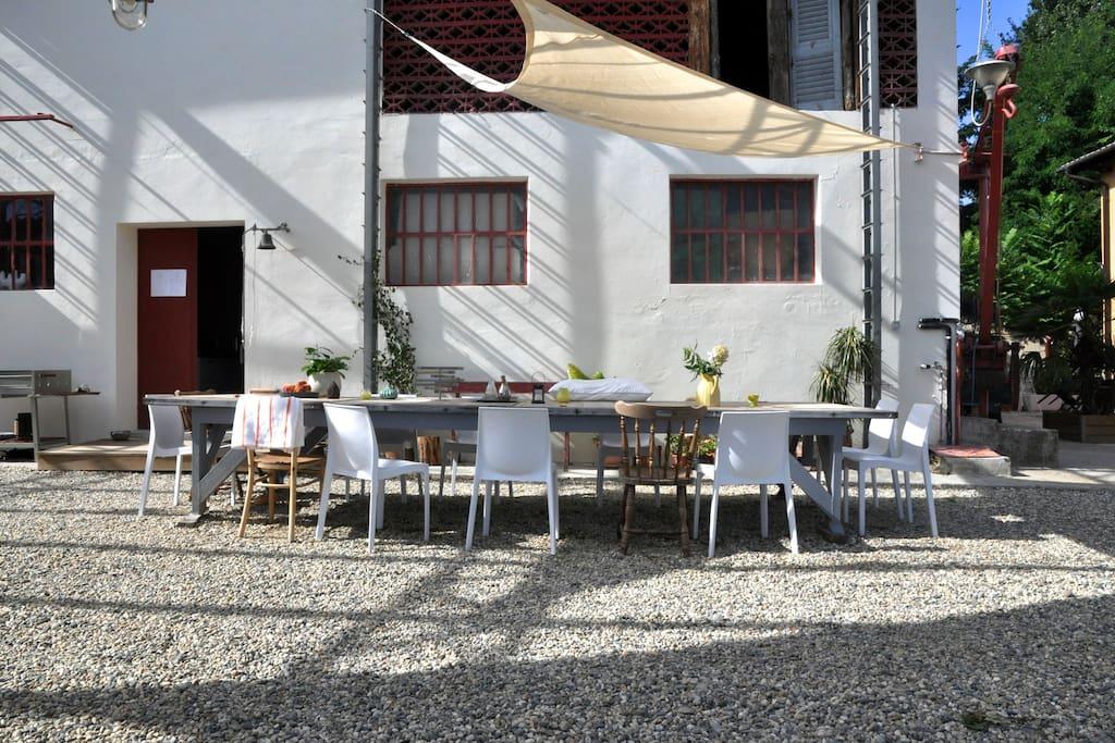 Our public terrace.