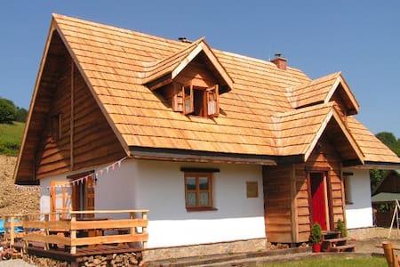 Stylowa Izba w Chacie - Bieszczady - Baligród - House