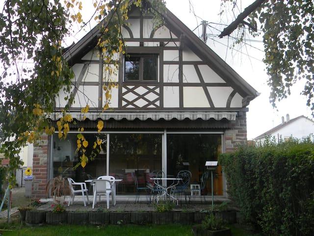 MAISON INDIV. 6 PERSONNES réservation mini 2 nuits - Illkirch-Graffenstaden - Rumah