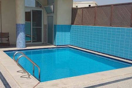 Amazing room with terrace and  pool - New Cairo City.  fifth destrict  - Other