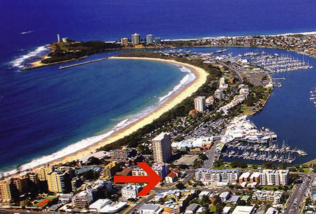 In the heart of Mooloolaba