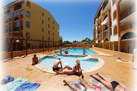 Appartement + parking + piscine