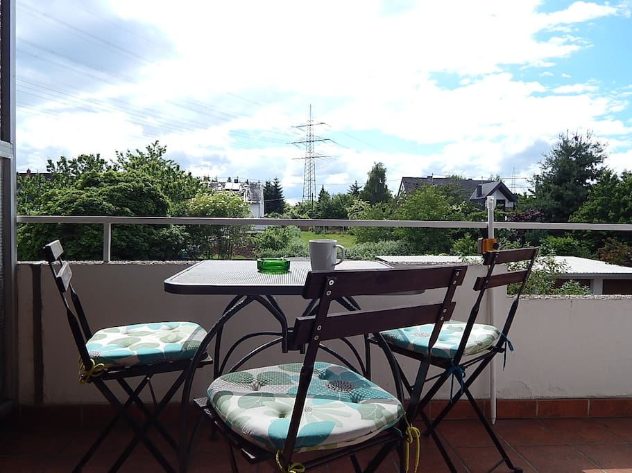Ausblick von der grossen Terrasse