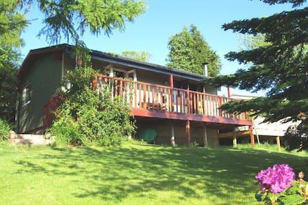 Lodge in Kippford, S. W. Scotland - Kippford