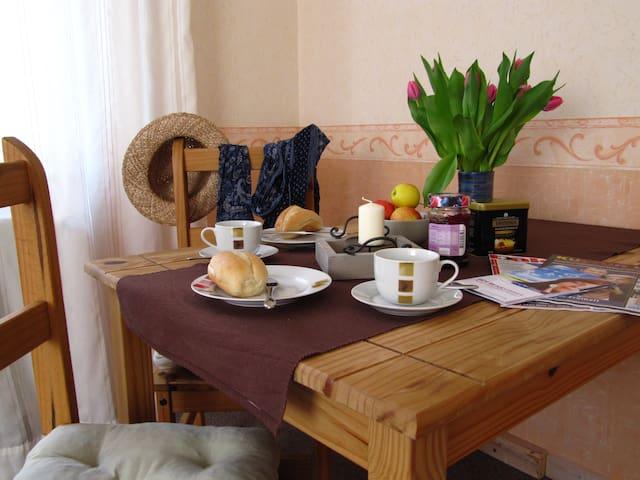 romantische Wohnung in Erfurt - Erfurt - Wohnung