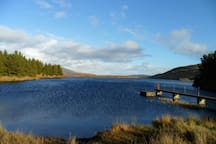 Lough Anna, 35 mins' walk.