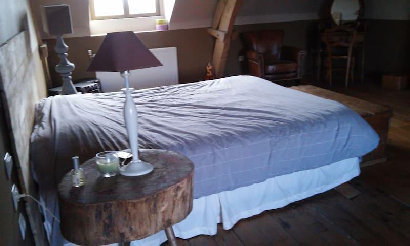 ANCIEN FERME EN PLEINE CAMPAGNE - Roëllecourt - Hus