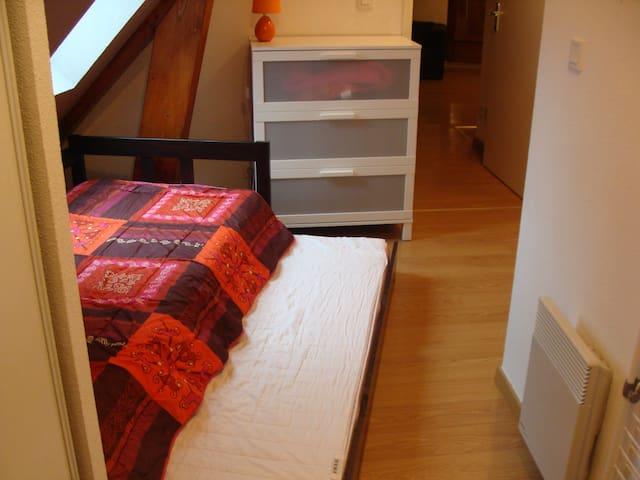 Logement mansarde 4/6 pers de 56 m2 - Loudenvielle - Társasház