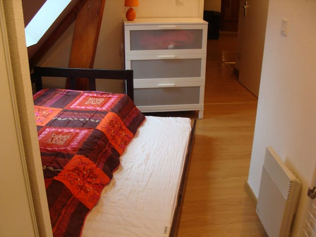 Logement mansarde 4/6 pers de 56 m2 - Loudenvielle - Kondominium