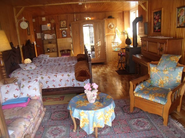 Chambre d'Hôtes Idéalement située ! - Bains-les-Bains - Rumah