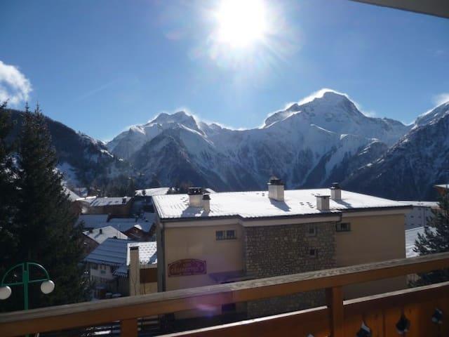 Les Deux Alpes, Vue exceptionelle - Vénosc - Apartment