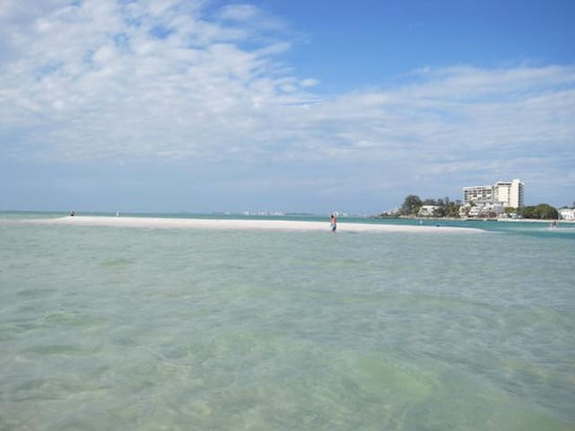 Offshore Sand Cay - move with the currents daily