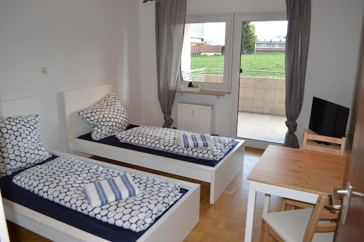 Doppelzimmer in 3 Zimmerwohnung - Öhringen - Daire