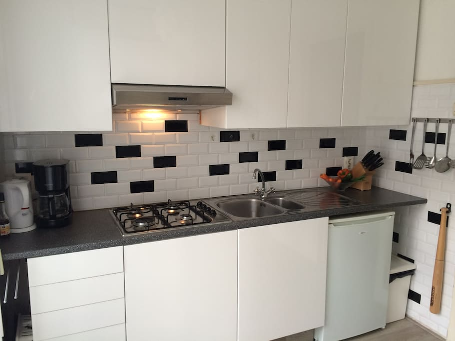 Clean and practical kitchen
