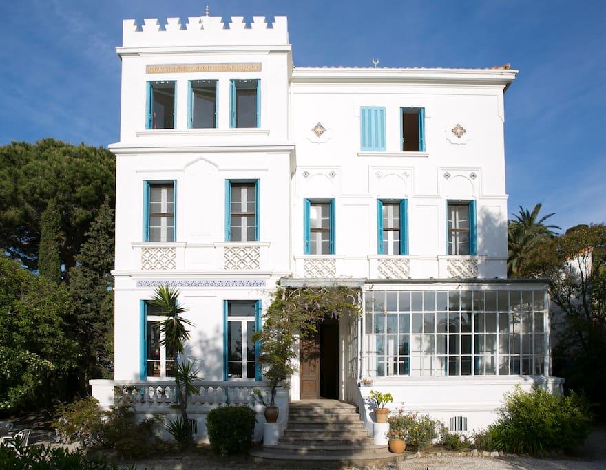 Villa vue du Jardin