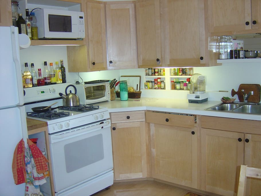 Use of Gourmet kitchen