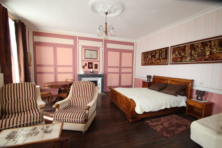 DOMAINE DES ROSES CHAMBRE BOIS - Vaudelnay - Bed & Breakfast