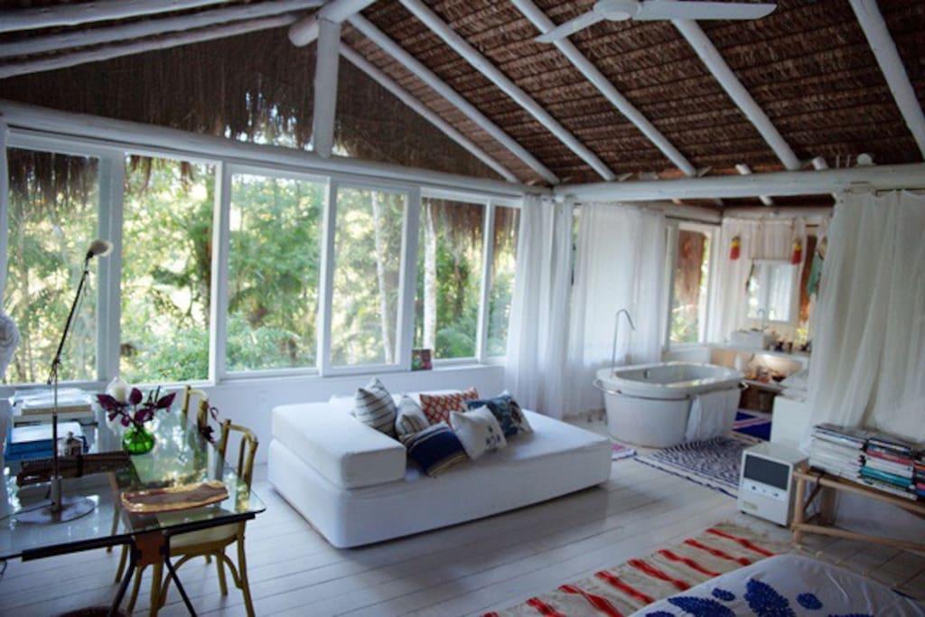 Bungalow Em Parati Huts For Rent In Paraty Rio De