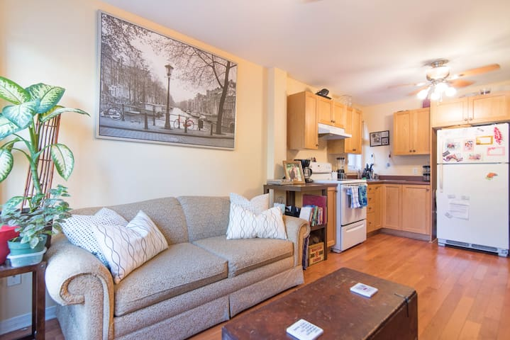 1 bdrm apt in trendy neighbourhood!