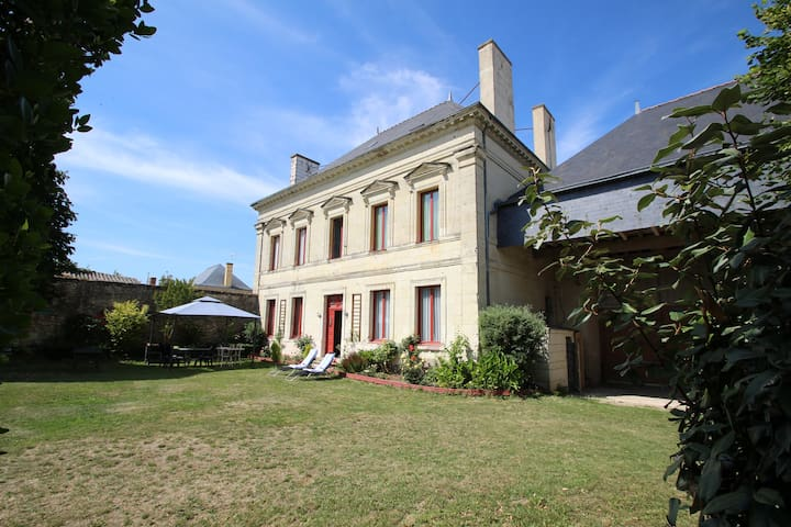 DOMAINE DES ROSES CHAMBRE VIOLET - Vaudelnay - Bed & Breakfast