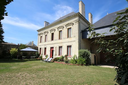 DOMAINE DES ROSES CHAMBRE GRISE - Vaudelnay - Bed & Breakfast