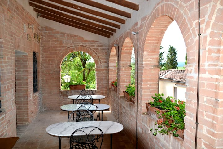 Camere in tipico casale toscano - Monteroni D'arbia - Bed & Breakfast