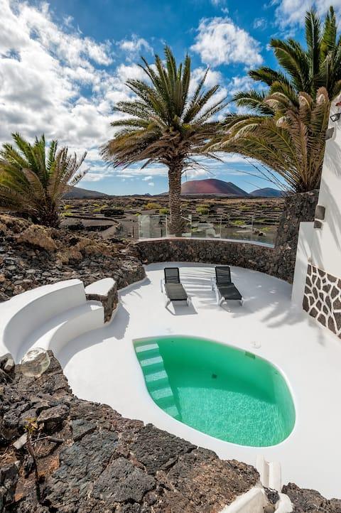 Un Oasis en medio del Volcán!